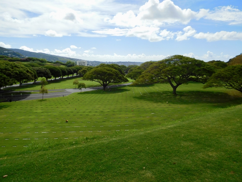 National Memorial Cemetery of the Pacific, Punchbowl