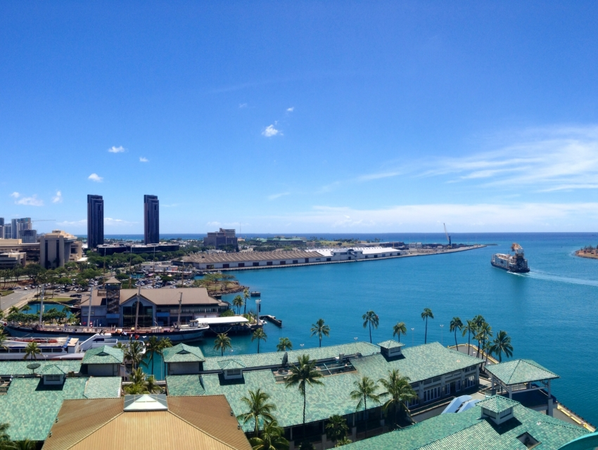 Honolulu Harbor