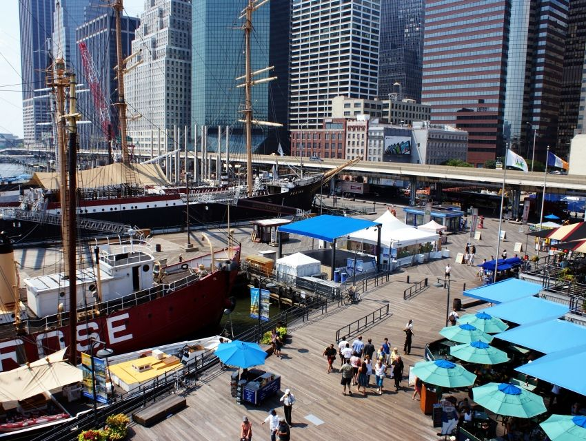 Port maritime de South Street (South Street Seaport)