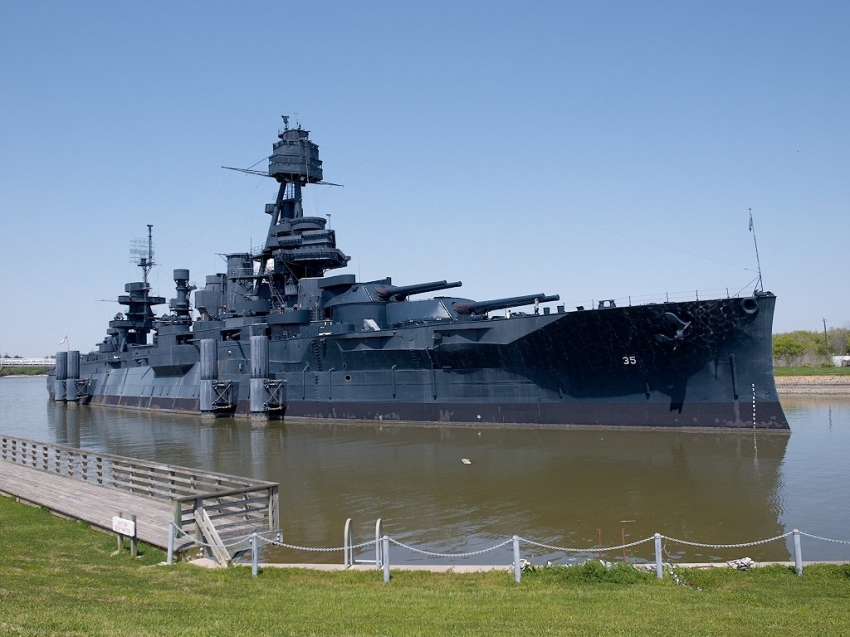 Battleship texas la porte tourist attractions for Attractions in la porte tx